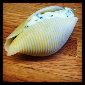 Spinach Stuffed Shell