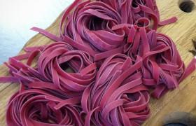 Beet Root Noodles